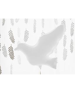 Balon foliowy Biały Gołąb BAL18