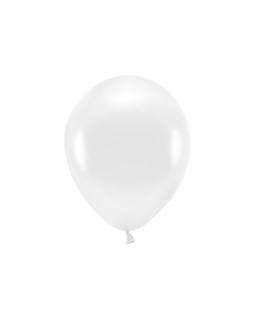Gładki balon 30 cm BAL01 metalizowane, biały