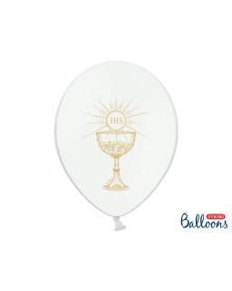 Balon komunijny z nadrukiem 6 szt. BAL18