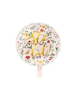 Balon foliowy Sto lat 35 cm BAL33