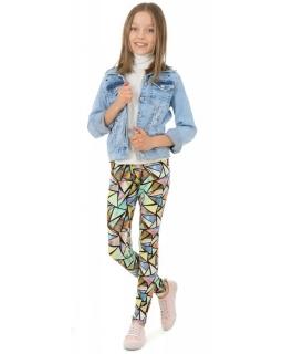Wygodne legginsy z nadrukami 116-158 KRP367 grafika06