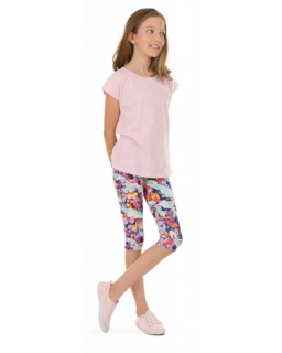 Wygodne legginsy do kolan 116-158 KRP389 wzór 030