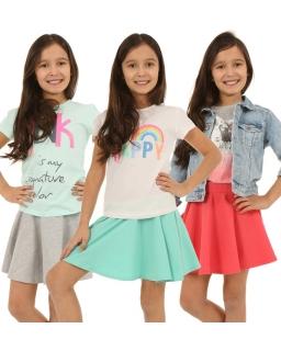 Uniwersalna spódniczka 116-158 KRP267 różne kolory