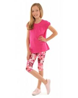 Wygodne legginsy do kolan 116-158 KRP389 wzór 015