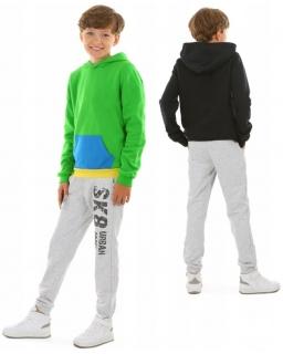 Wiosenne spodnie dresowe 116-158 KRP398 Szary SK8ING