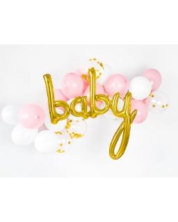 Balon foliowy BABY złoty BAL47