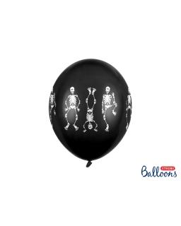 Balony 30 cm KOŚCIOTRUPY BAL53 6szt