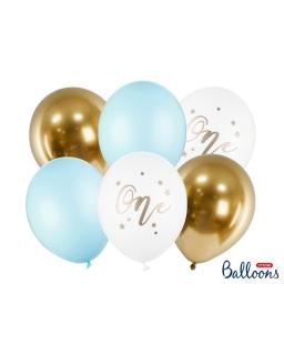 Balony ZESTAW NA ROCZEK 6SZT BAL55