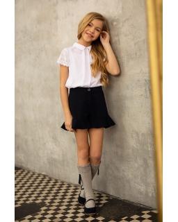 Elegancka szkolna bluzeczka 122-164 1s-125