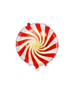 Balon foliowy Świąteczny Cukierek BAL61