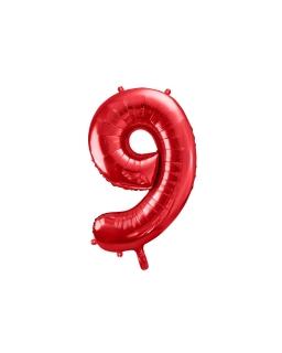 Balon foliowy CYFRA 9 BAL64