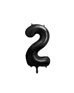 """Balon foliowy CYFRA """"2"""" BAL76 86 cm"""
