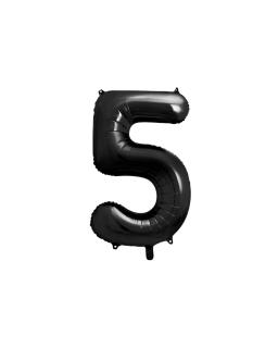 """Balon foliowy CYFRA """"5"""" BAL79 86 cm"""