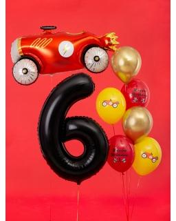 """Balon foliowy CYFRA """"6"""" BAL80 86 cm"""