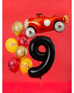 """Balon foliowy CYFRA """"9"""" BAL82 86 cm"""