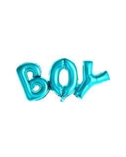Balon foliowy BOY niebieski BAL83