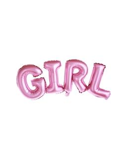 Balon foliowy GIRL 74x33cm BAL97