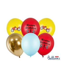 Zestaw 6sztuk Balony urodzinowe BAL96