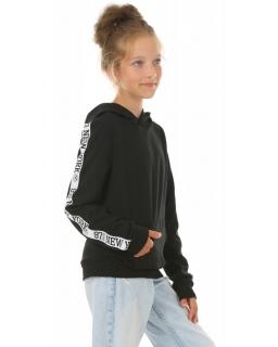 Bluza z kapturem NEW YORK KRP409 czarny