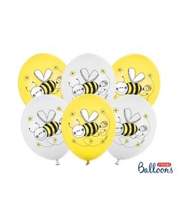 Zestaw 6sztuk Balony Pszczólki BAL