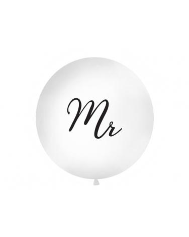"""Duży metrowy balon lateksowy """"MR"""" BAL102"""