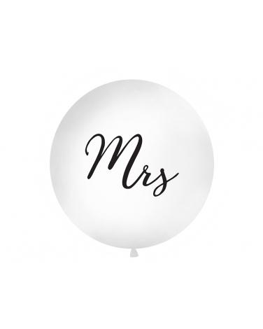 """Duży metrowy balon lateksowy """"MRS"""" BAL103"""