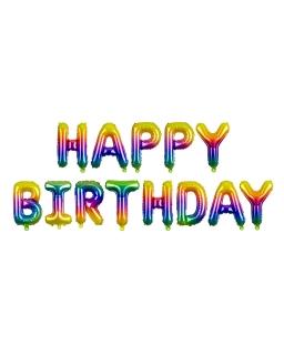 Balony urodzinowe Happy Birthday BAL105