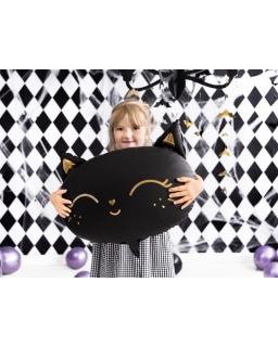 Balon foliowy czarny KOTEK BAL109