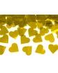 Tuba strzelająca konfetti złote serca DK07 60 cm