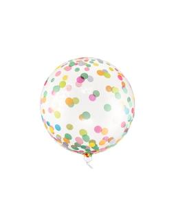 Duży balon KULA w kropki BAL114