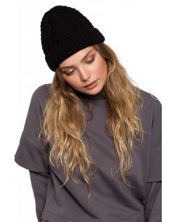 Klasyczna czapka dla mamy BK080 czarna