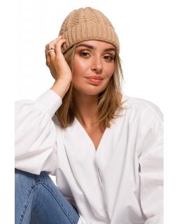Klasyczna czapka dla mamy BK080 kamel