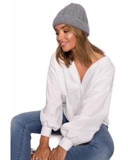 Klasyczna czapka dla mamy BK080 szary