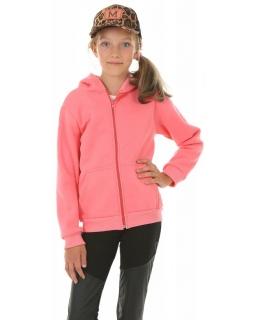 Ciepła bluza dla dziewczynki, różowa, tanie bluzy bawełniane, sklep
