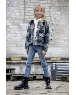 Przejściowa kurtka dla dziewczynki 128-158 Gabi kratka
