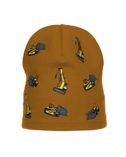 Bawełniana czapka wiosna/jesień AGB/4766 miodowy