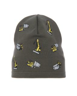 Bawełniana czapka wiosna/jesień AGB/4766 niebieski