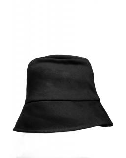 Bawełniany kapelusz B214 czarny