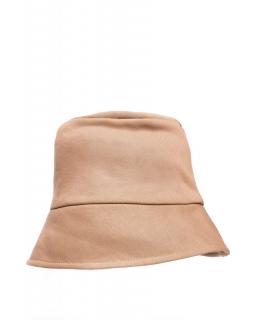 Bawełniany kapelusz B214 orzechowy
