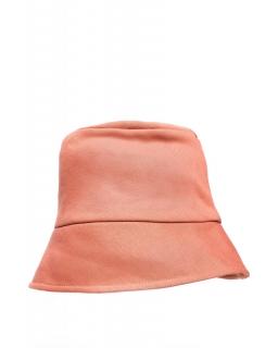 Bawełniany kapelusz B214 ceglasty