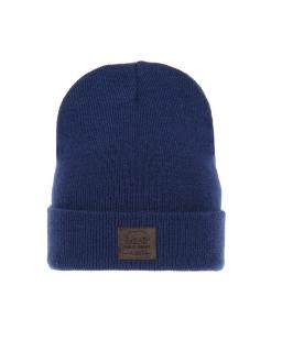 Zimowa czapka podszyta polarem AGB/3419 granat