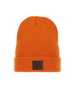 Zimowa czapka podszyta polarem AGB/3419 pomarańczowy