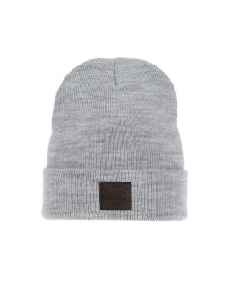 Zimowa czapka podszyta polarem AGB/3419 szary