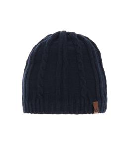Chłopięca czapka na zimę AGB/4777 granat
