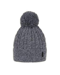 Chłopięca czapka na zimę AGB/3077 szary