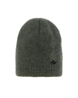 Zimowa czapka ze srebrną nitką 55-60 AGB/4823 zielony