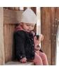 Cieńka bawełninana czapeczka AGB/4684 kremowy