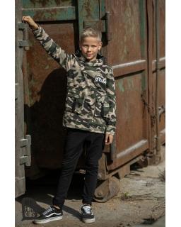 Chłopięca bluza z kapturem MORO 104-158 AFK/18 moro