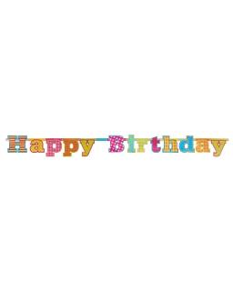 Baner urodzinowy Happy Birthday BAN09