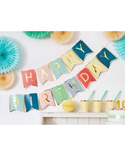 Baner urodzinowy Happy Birthday BAN10